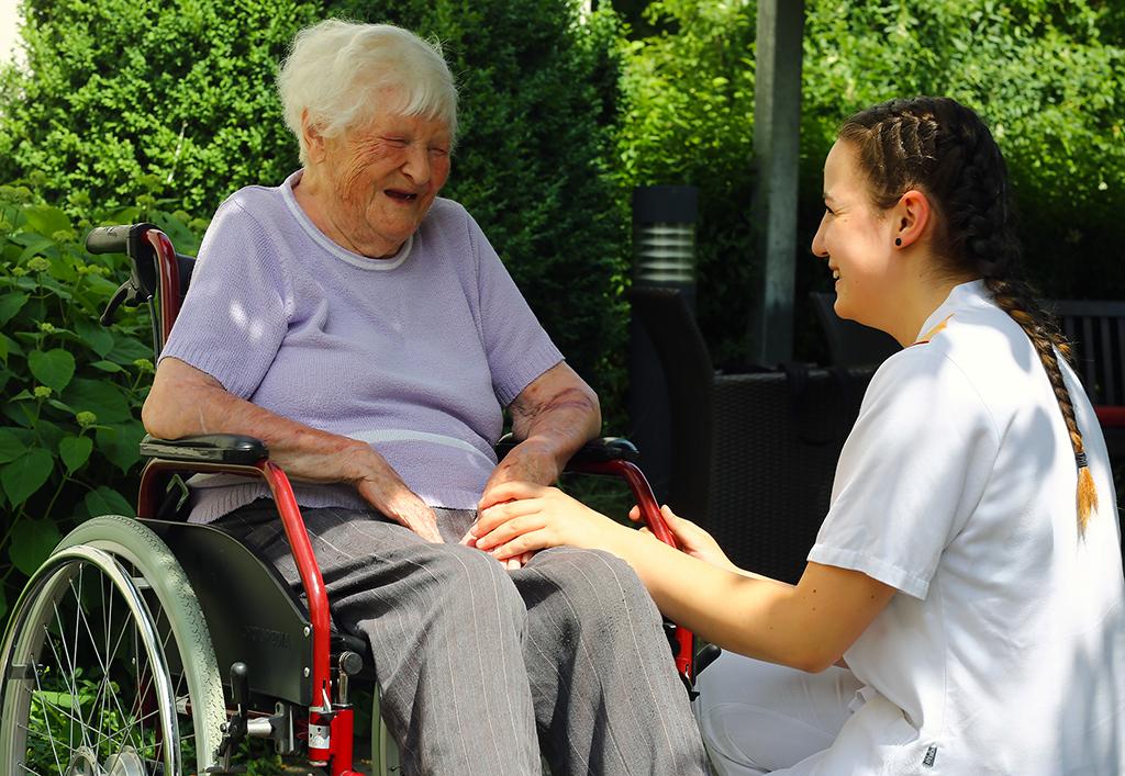 Betreuung im ASB-Seniorenheim