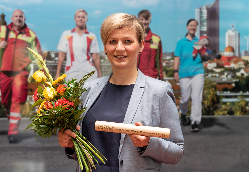 Anna Naumann – neue Geschäftsführerin des ASB Regionalverbandes Leipzig e.V.